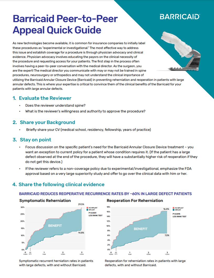 image of peepr-to-peer appeal guide